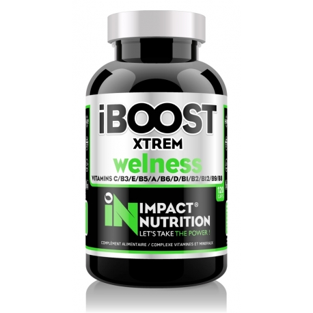 iBoost Xtreme Wellness 120caps   Impact Nutrition