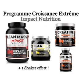 Programme Croissance Extrême - Masse sèche | Impact Nutrition