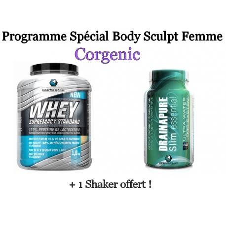 Programme Spécial Body Sculpt Femme | Corgenic