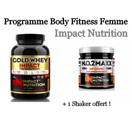 Programme Spécial Body Fitness Femme | Impact nutrition