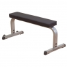 Banc plat droit simple compact flat bench GFB350   Body-Solid
