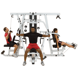 Multigym professionnel Leg Press EXM4000S | Body-Solid
