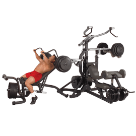Leverage Gym Charges libres Full Option SBL460P4 | Body-Solid