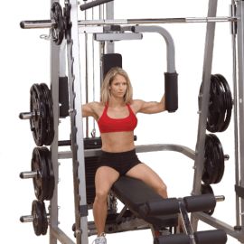 Option Pec Dec GPA3 Multi Power Smith Machine GS348 Série 7 | Body-Solid