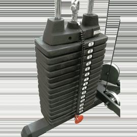 Kit 90kg de plaques de charges pour bancs et machines de musculation | Body-Solid