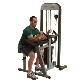Pupitre biceps & Triceps à charge automatique GCBT-STK - Body-Solid
