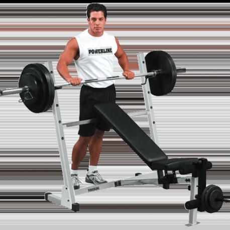 Powerline Banc Combi avec Rack | Body-Solid