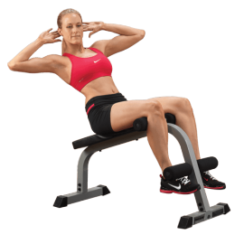 Powerline Banc à abdo home | Body-Solid