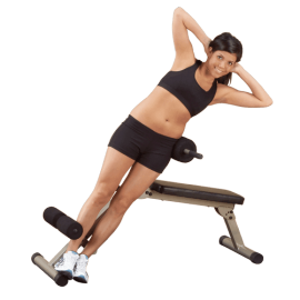 Best Fitness Banc Abdo et Hyper-extension | Body-Solid