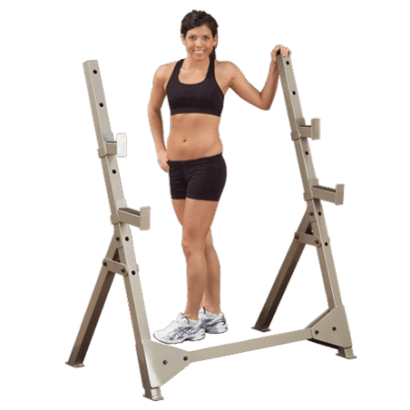 Best Fitness Rack Olympique Home 7 positions | Body-Solid