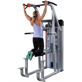 Machine dorsaux assistée contrepoids 105kg | Body-Solid