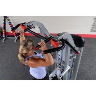 Machine dorsaux assistée contrepoids 105kg | Body-Solid