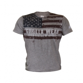 USA Flag Tee | Gorilla Wear