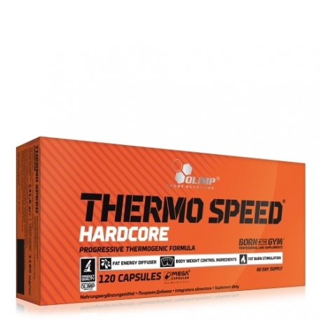Thermo Speed hardcore Mega Caps | Olimp Sport Nutrition