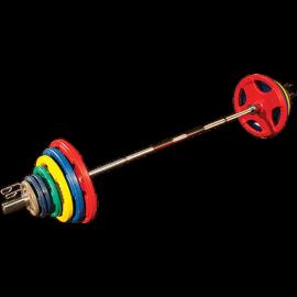 Pack Disques Olympique Caoutchouc Coloré | Body-Solid
