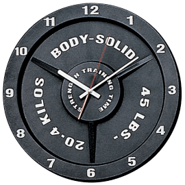 Horloge forme disque | Body-Solid