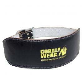 Full Leather Padded Belt | Gorilla Wear