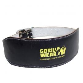 Full Leather Padded Belt | Gorilla Wear